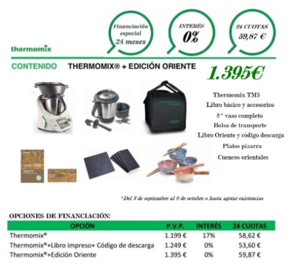 Thermomix® MÁS EDICIÓN ORIENTE