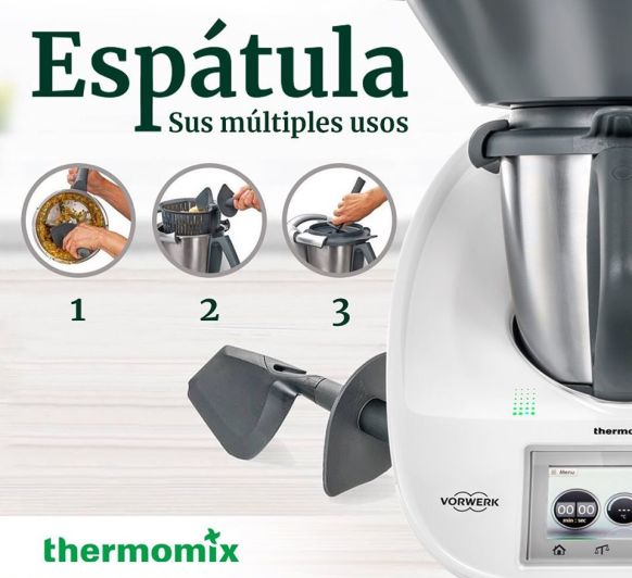 Trucos de espátula con Thermomix® en Cáceres