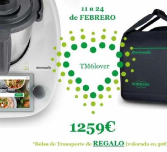 Regalo bolsa de transporte #Cáceres#thermomix#promociones Thermomix®