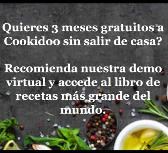 Demostración virtual Thermomix® desde Cáceres y 3 meses gratis de Cookidoo