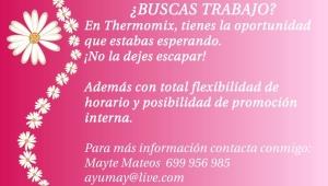Estas interesad@ en trabajar con nosotros?, contacta conmigo